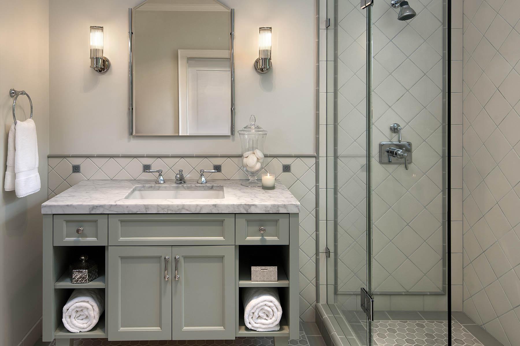 Carlson guest bathroom