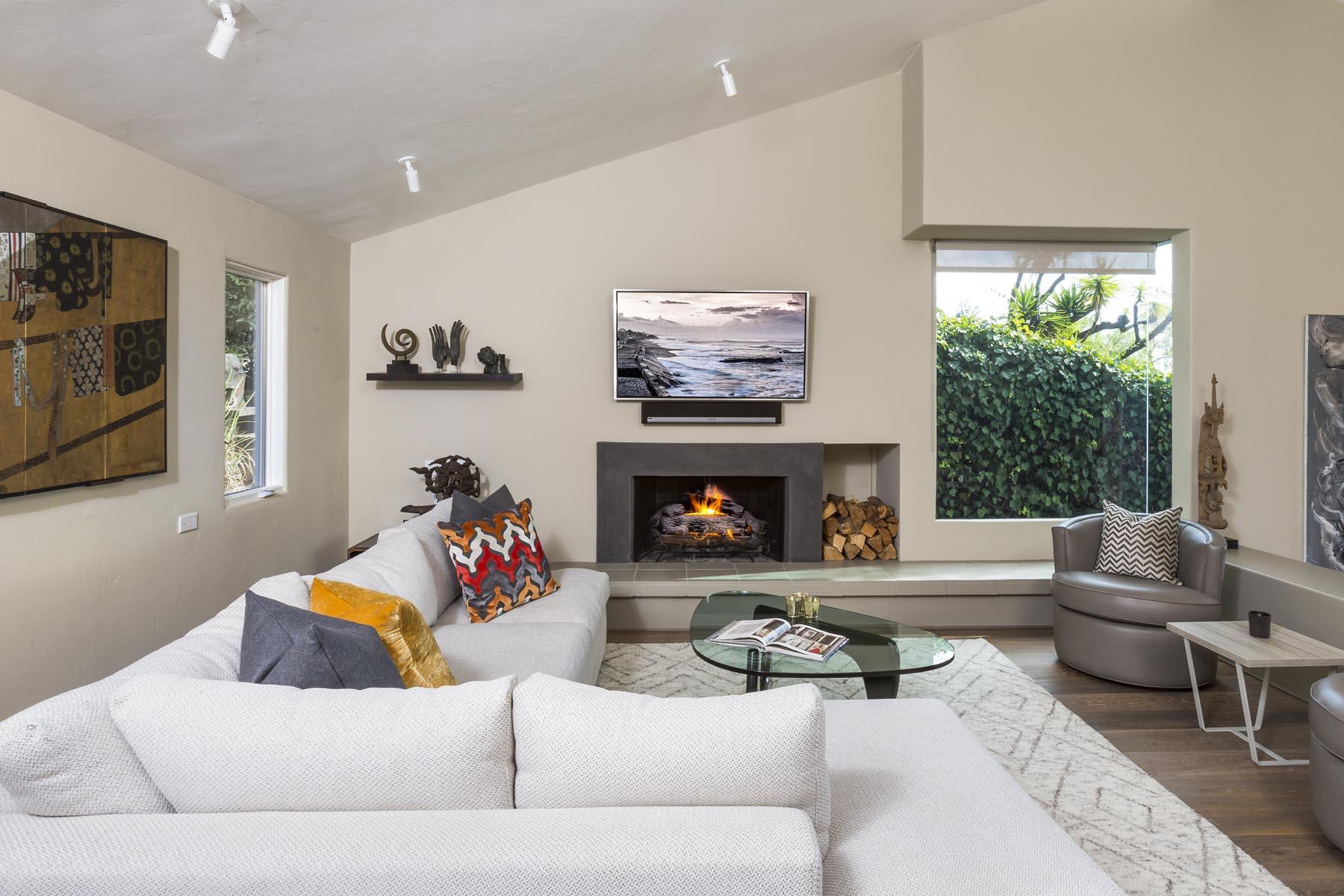 Fleischer living room